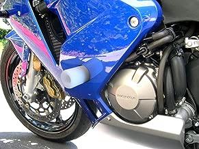 Shogun 2003 2004 2005 2006 Honda CBR600RR CBR600 White Frame Sliders - 750-3300 - MADE IN THE USA