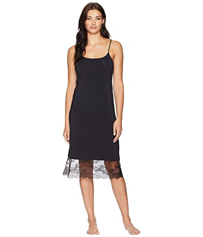 Natori Infinity Lace Trim Slip (Black) Women