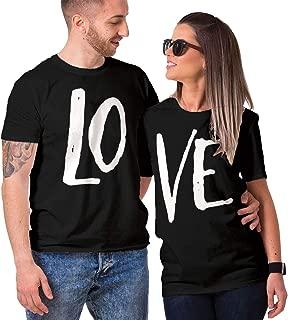 Matching Couple Love - LO VE - Valentine T-Shirt