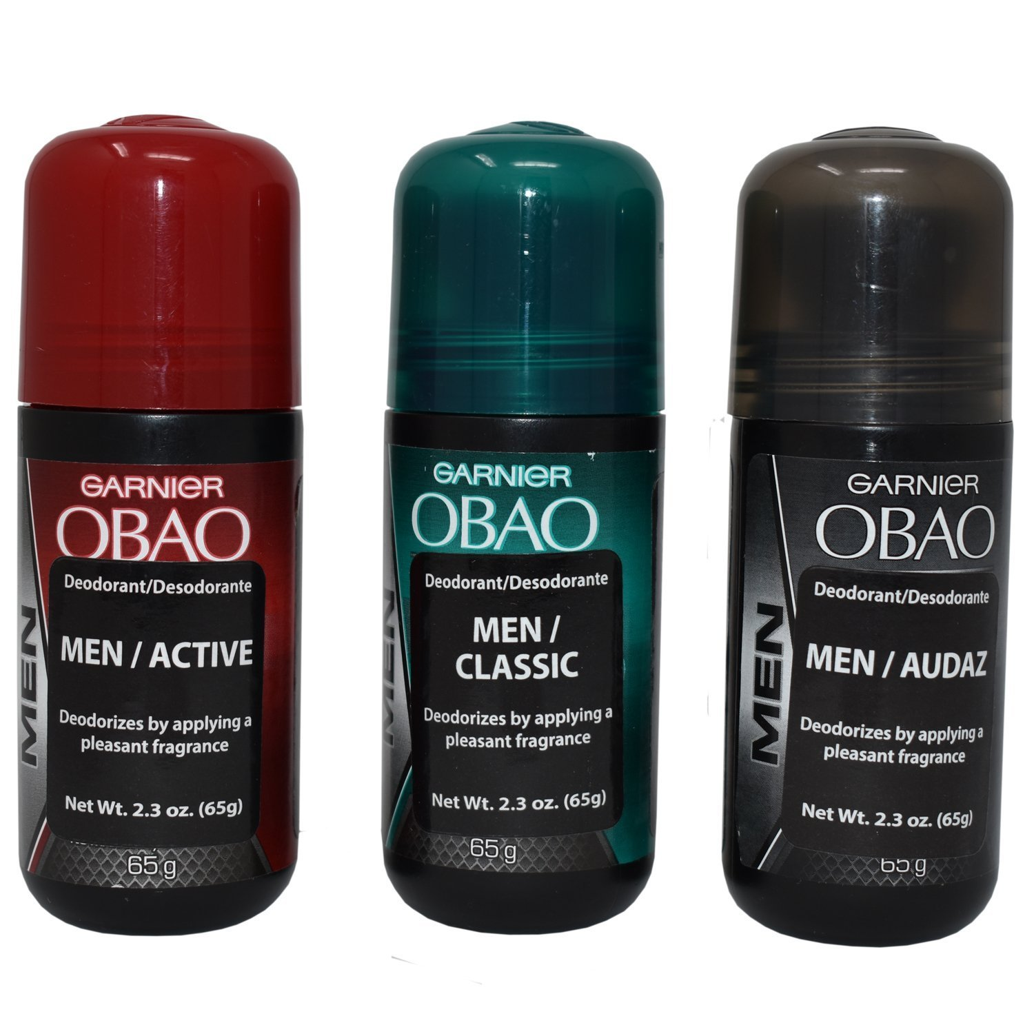 OBAO Assorted Deodorant for Men 3 of Pack - Free Finally resale start shipping