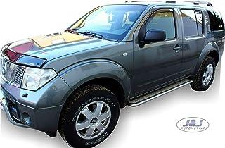 J/&J AUTOMOTIVE Deflecteurs dair d/éflecteurs de Vent Compatible avec Nissan Nv200 2 Portes 2010-pr/és 2 pi/èces