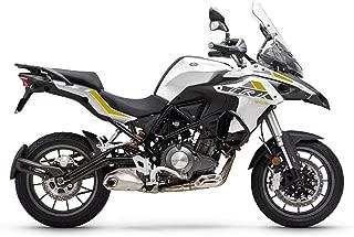 SODIAL Etiqueta Engomada de la Calcoman/ía del Protector del Tanque de Combustible del Gas/óleo de la Motocicleta para Benelli TRK 502 Accesorios de la Motocicleta