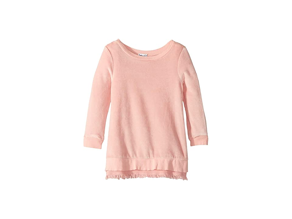 Splendid Littles Velour Dress (Toddler) (Mellow Rose) Girl
