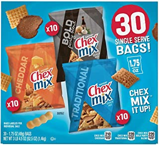 Chex Mix Classics Snack Mix, 1.75 Ounce (Pack of 30)