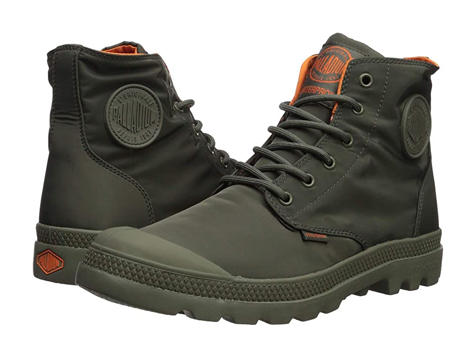 Palladium Pampa Puddle Lite Water Proof (Dusty Olive/Vetiver) Lace-up Boots