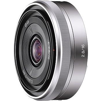 ソニー 単焦点レンズ E 16mm F2.8 ソニー Eマウント用 APS-C専用 SEL16F28