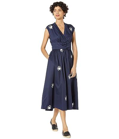 Kate Spade New York Snappy Poplin Bow Dress