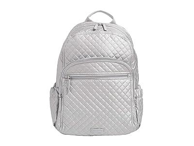 Vera Bradley Campus Backpack (Silver Pearl) Backpack Bags
