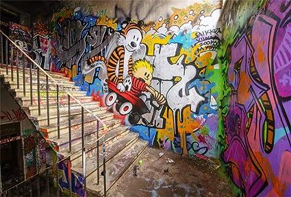Yeele 2 1 X 1 5 M Urban Street Graffiti Wand Kamera