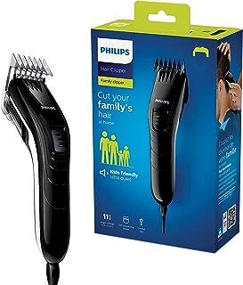 Philips rodzinna maszynka do strzyżenia włosów QC5115/15 Ostrza ze stali szlachetnej, 11 ustawień długości, przewodowa