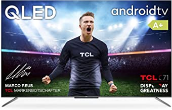 TCL 50C715 QLED Fernseher 127 cm (50 Zoll) Smart TV (4K Ultra HD, HDR 10+, Dolby Vision..