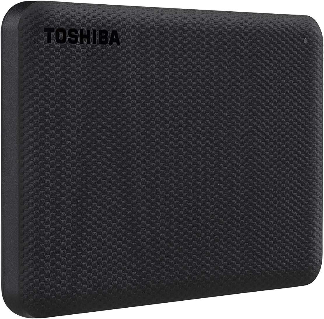 Toshiba Canvio Advance 2TB Portable External Hard Drive USB 3.0 White HDTCA20XW3AA