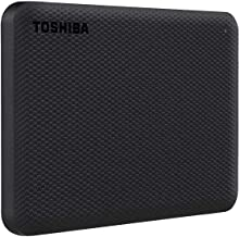 Toshiba Canvio Advance 2TB Portable External Hard Drive USB 3.0, Black - HDTCA20XK3AA
