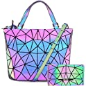 Obvie HotOne Luminous Geometric Purse and Handbag