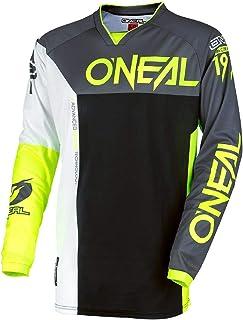 O'NEAL Mayhem Lite Split MX Jersey Trikot lang grau/schwarz/orange 2018 Oneal