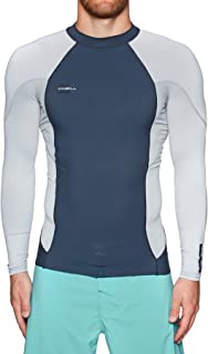 O Neill 0.5mm Hyperfreak Neoskins Long Sleeve Top Wetsuit Small Slate/coolgry