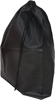 Set of 2 Large Travel Boot Bags, Portable Shoe Bags with Drawstring, 20 inches x 24 inches