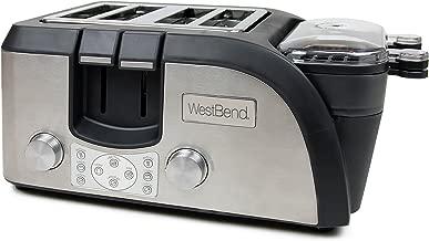 West Bend TEMPR100 Platinum Breakfast Station Toaster Oven, Black (Discontinued by Manufacturer)