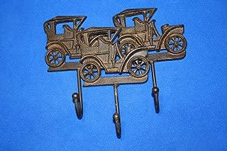 Southern Metal Vintage Car Wall Hooks Cast Iron 6