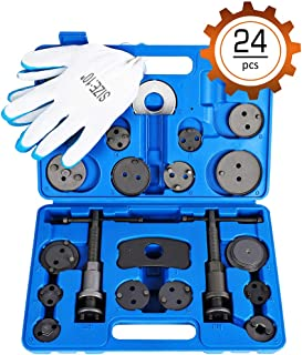 Orion Motor Tech 24-Piece Disc Brake Caliper Tool Kit, Front and Rear Brake Piston..