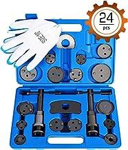 OrionMotorTech 24-Piece کیت ابزار کولر ترمز دیسکی، فشرده سازی پیستون ترمز جلو و عقب، مجموعه ابزار مکانیکی خودرو حرفه ای