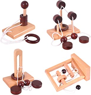 wooden string puzzle solution