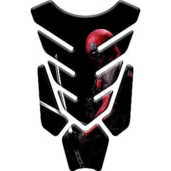 Kawasaki Spider Man compatible Yamaha avec effet 3D motifs Super H/éros Totalstickers3D Prot/ège r/éservoir de moto en r/ésine Honda