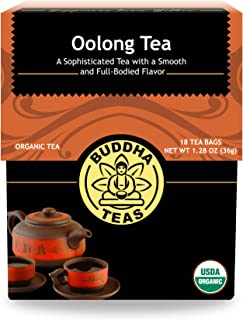 Organic Oolong Tea, 18 Bleach-Free Tea Bags – Rich in Vitamins and Minerals and a Natural Source of Antioxidants, No GMOs