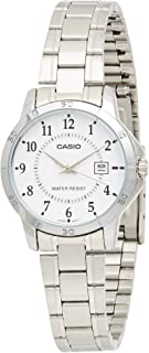 Casio LTP-V004D-7B For Women- Analog, Casual Watch