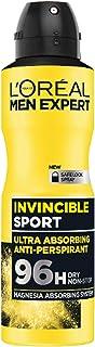 L'Oréal Paris Men Expert Invincible Sport Anti-Perspirant Deodorant Spray, 150 ml