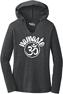 Ladies Namaste Om Hoodie Shirt