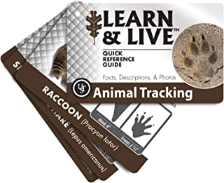 UST Learn & Live Educational Card Set, Animal Tracking