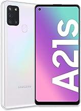 "Samsung Galaxy A21s, Smartphone, Display 6.5"" HD+, 4 Fotocamere Posteriori, 32 GB Espandibili, RAM 3 GB, Batteria 5000 mAh, 4G, Dual Sim, Android 10, 192 g, [Versione Italiana], White"