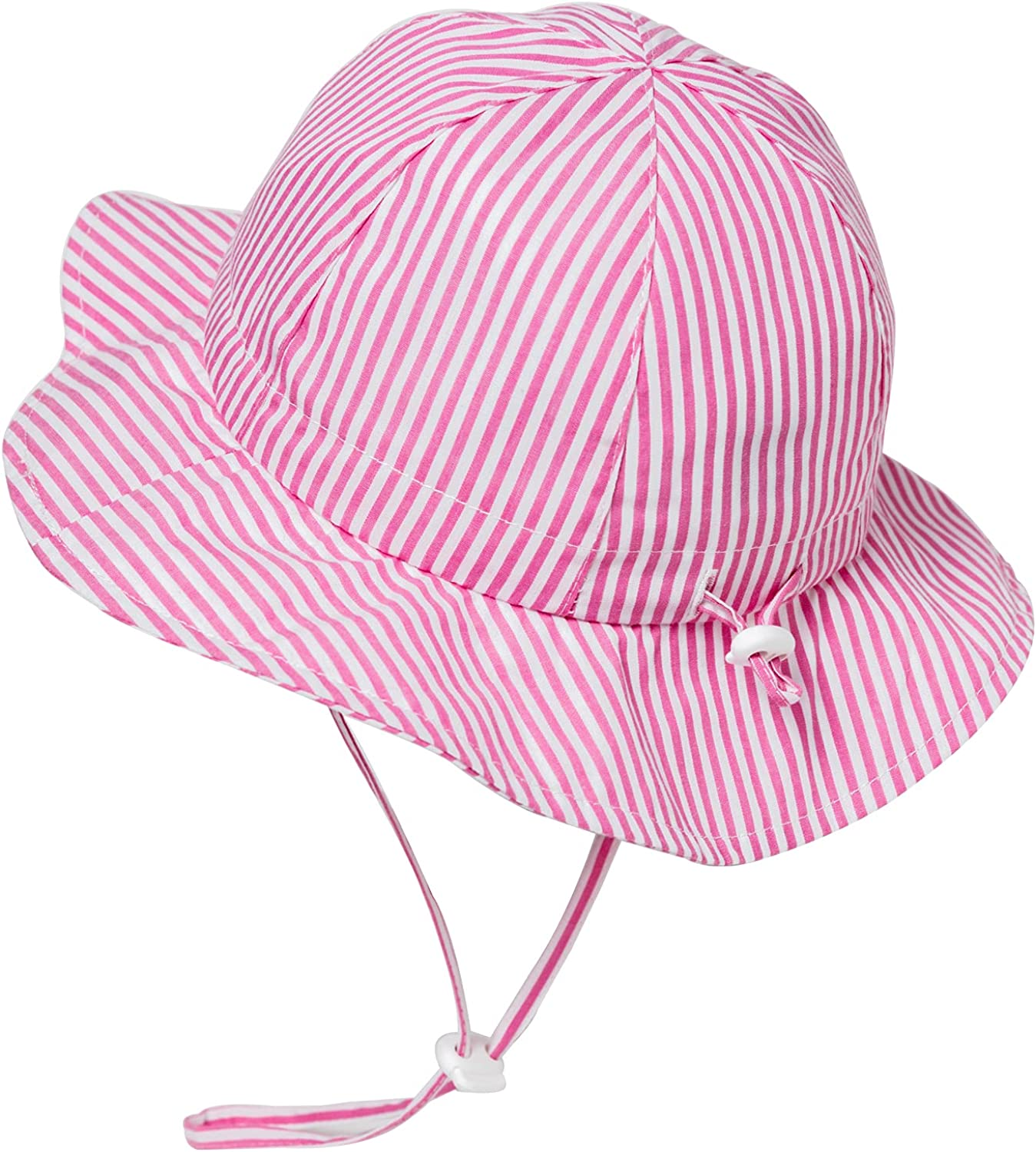 Comhats Baby Sun Hat,Infant hat,Toddlers Girls Boys Bucket hat Summer Beach UPF Packable Adjustable 100% Cotton for Kids