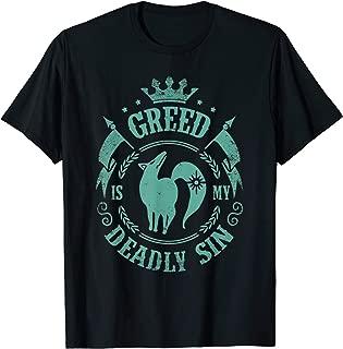 Seven Deadly Sins Anime Manga - Dragon Sin Of Greed T-Shirt T-Shirt