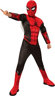 Costume Spider Man Far From Home Red Black Deluxe Child Costume