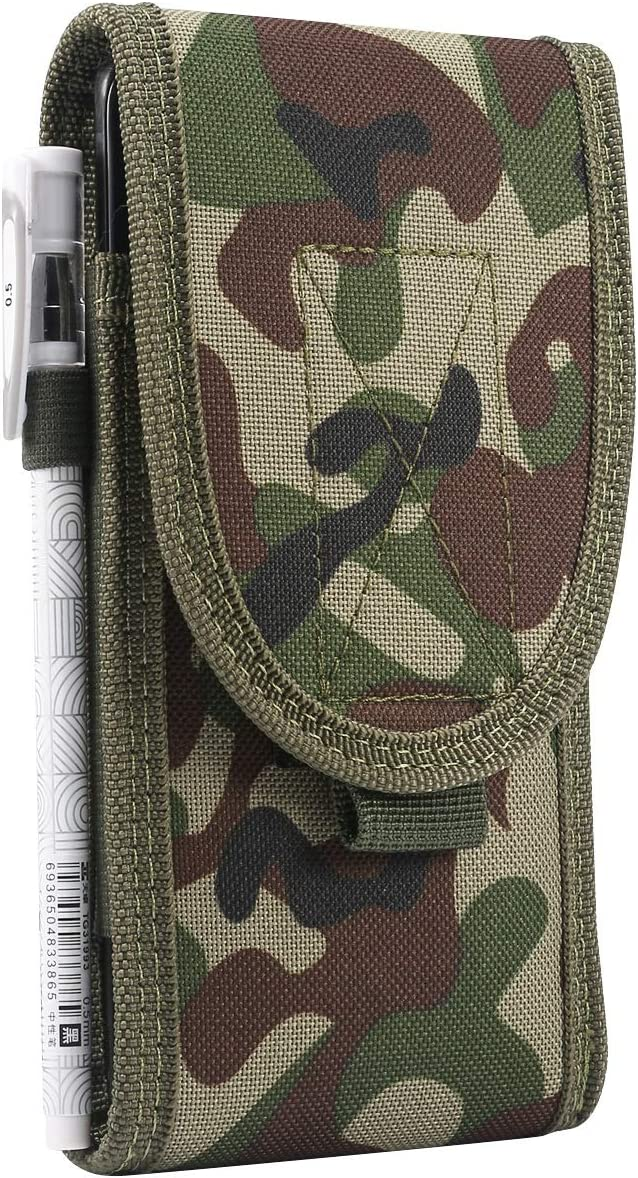 Phone Belt Clips Universal 4.7-6.7 inch Tactical MOLLE Holster Army Mobile Phone Belt Pouch for Mobile Phone Belt Clip Pouch Holster Cover Case For Samsung Galaxy S20 Plus S20+ s20 ultra S10 S9, For i