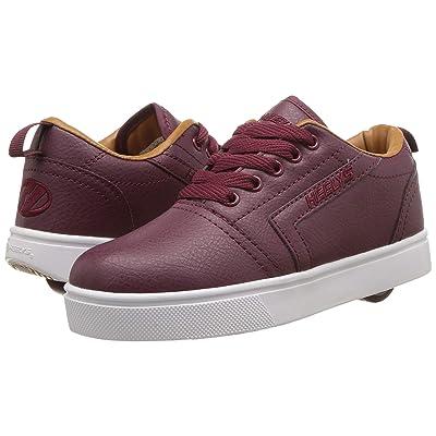 Heelys GR8 Pro (Little Kid/Big Kid/Adult) (Burgundy/Cashew) Boys Shoes