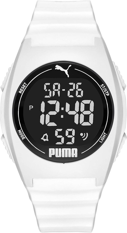 Puma Puma 4 - Reloj unisex de poliuretano, color