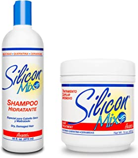 Silicon mix hair treatment and shampoo 16 ounce