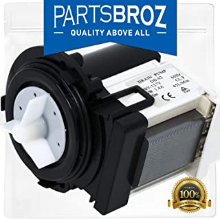 4681EA2001T Washer Drain Pump Motor for Kenmore and LG Washers by PartsBroz - Replaces Part Numbers AP5328388, 4681EA1007G, 2003273, 4681EA1007D and More