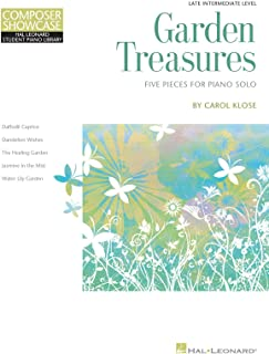 Garden Treasures: Five Pieces for Piano Solo