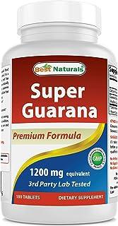 Best Naturals Super Guarana 1200 mg 180 Tablets
