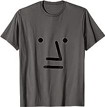 NPC meme Gray Face T shirt for men, for women