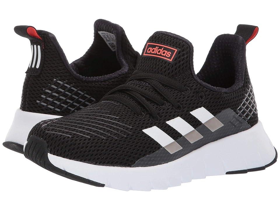 ad3d2e32224 adidas Kids Asweego Run (Little Kid Big Kid) (Core Black Footwear White Solar  Red) Kid s Shoes