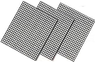 3 قطع غير لاصقة من الواح الشواء قابلة لاعادة الاستخدام، للاستخدام خارج المنزل، اداة الشواء والطبخ للنزهات