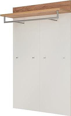 Germania GW Topix Panneau de vêtements 3773, Bois Dense, White/Navarra-Oak Repro, 96 x 147 x 29 cm