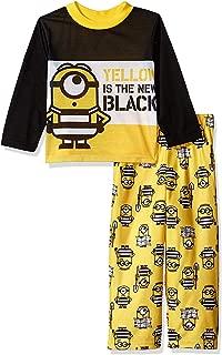 3 Minions Boys Long Sleeve Pajamas Set
