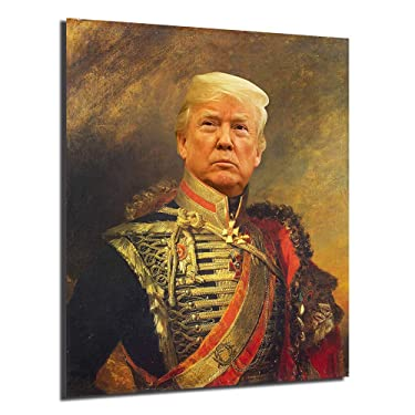 Donalds Trumps Poster Funny President Celebrity Paintings On Canvas Modern Art Decorative Wall Pictures Home Decoration (No Framed,20x24inch)