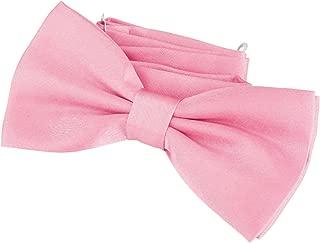 WELROG Herren Pre gebundene Fliege f/ür Hochzeitsfeier Fancy Plain Einstellbare Bowties Krawatte